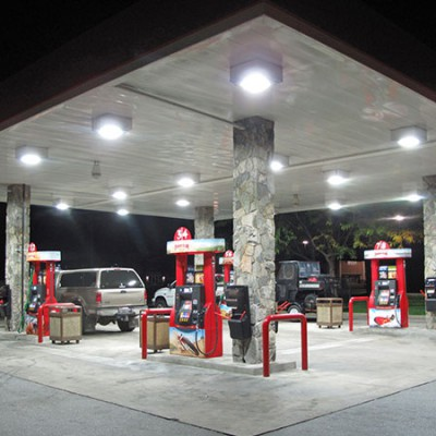 Gas Canopy (LEDs)
