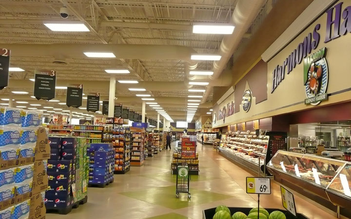Retail Amp Grocery Stores Lms Lighting